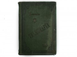 MANUAL MILITAR DE TELEGRAFÍA, 1896