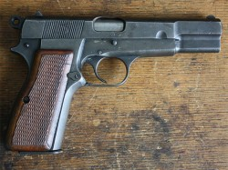 PISTOLA FN Mod. 1935 HIGH POWER, INUTILIZADA