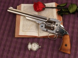 REVOLVER SMITH & WESSON RUSIAN CROMO